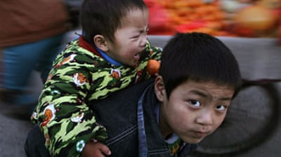 China cracks down on child-trafficking gangs