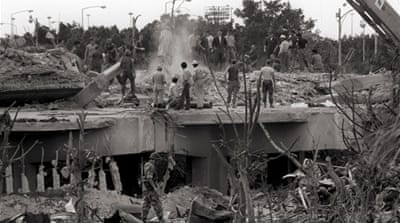 The attack in Beirut in 1983 was one of the deadliest against US soldiers [EPA]