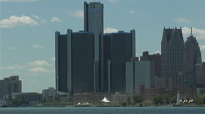 Detroit has an unemployment rate of 18.2 percent, with a third of residents classified as living in poverty [Reuters]