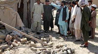Three suicide bombers were on a motorcycle when their explosives went off in Kandahar, killing children [EPA]