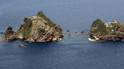 Japan disputes South Korea's sovereignty rights over the islets of Dokdo [EPA]