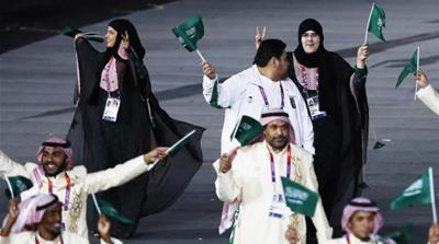 The 2012 Olympic games were the first in which all countries had female as well as male athletes [EPA]