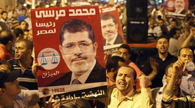 Egypt's Morsi 'empowered' by army shake-up