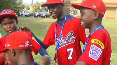 Ugandan baseball players make history
