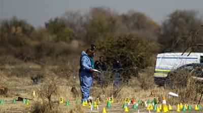 Dozens killed in South Africa mine shooting