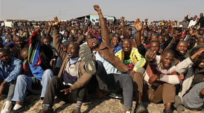 Striking South Africa miners given ultimatum