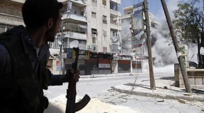 Syria intensifies air attacks on Aleppo