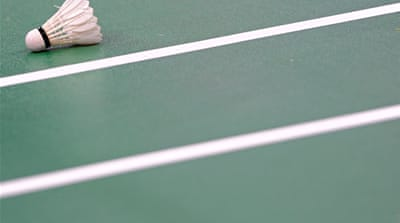 The punch-up between the former partners, left, is being investigated by the Badminton World Federation [GETTY]