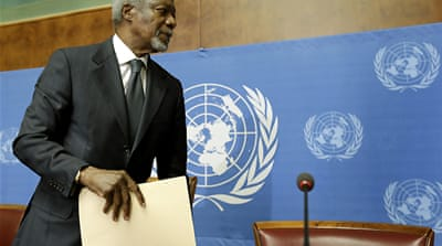 Annan quits as Syria peace envoy