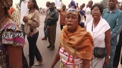 DR Congo protesters demand end to fighting