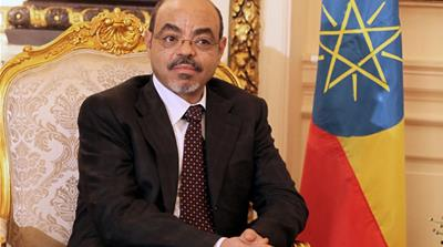 Despite his influence in regional wars, Meles Zenawi was greatly respected by his peers [EPA]