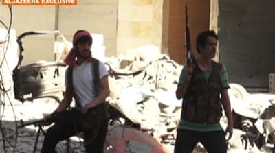 'Foreign fighters' join the battle of Aleppo