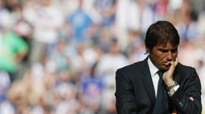 Conte is appealing his 10-month suspension after calling the ban a 'disgrace' [EPA]