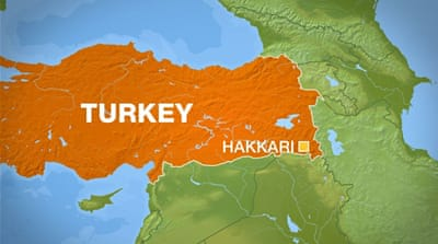 Turkey says Kurdish fighters killed in raid