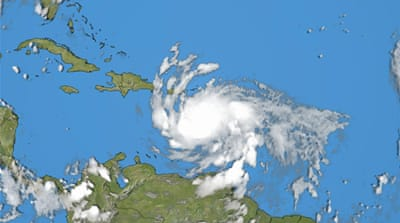 Tropical Storm Isaac strengthens