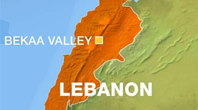 Israel strikes area on Lebanon-Syria border