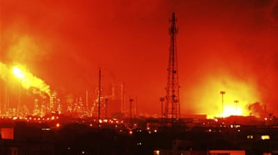 Deadly explosion at Venezuela oil refinery
