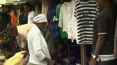 Contraband clothes dominate Nigeria's market