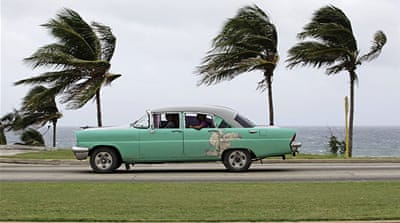 Tropical Storm Isaac makes landfall in Cuba