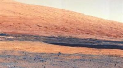 The rover landed on Mars in August and has been transmitting photos and data back to Earth [NASA]