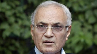 Egyptian authorities will detain Shafiq for questioning over an alleged corruption case if he returns home [EPA]