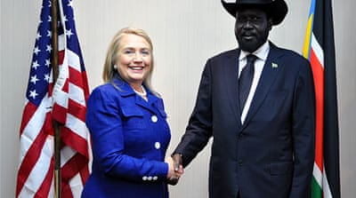 Senegal was the first stop of US Secretary of State Hillary Clinton's seven-nation Africa tour [Reuters]