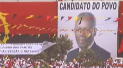 Angola opposition says ruling party 'corrupt'