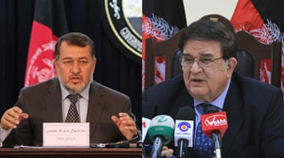 President Karzai has previously opted to keep ministers in an acting capacity after similar votes [AFP]