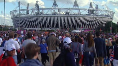 Olympic spirit abounds in London