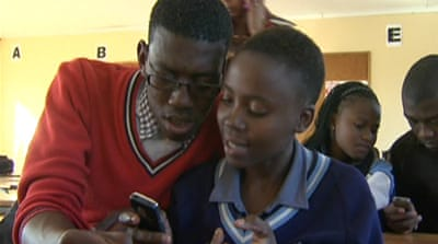 South African youth wowed by new app