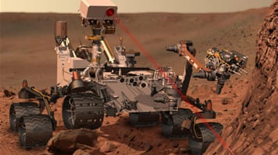 NASA's Curiosity on course for Red Planet