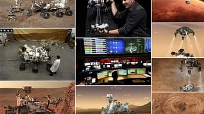 In Pictures: NASA's Curiosity lands on Mars