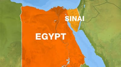 Egypt confirms deaths in Sinai air raid