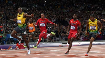 Brilliant Bolt scorches to 100m sprint gold
