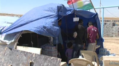 Syria's Kurds flee violence to Iraq