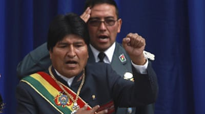 Morales came to power in 2006, promising to improve the lot of the country's indigenous populations [AP]