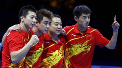 Estimates suggest 500 million Chinese watched the men's final in a country where the sport is a source of national pride [EPA]