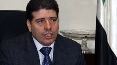 Wael Nader al-Halqi has reportedly replaced the previous prime minister, who defected and fled the country [EPA]
