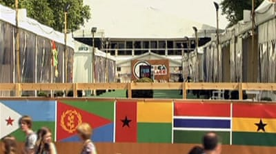 Olympics Africa Village shut amid dispute