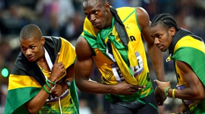 Usain Bolt was tested for doping over a dozen times in and out of competition in 2012 [FILE: Getty Images]