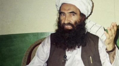 The US accuses Pakistan's intelligence agency of supporting the Haqqani network [Reuters]