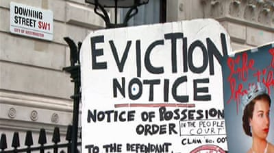 UK squatters face eviction after law change