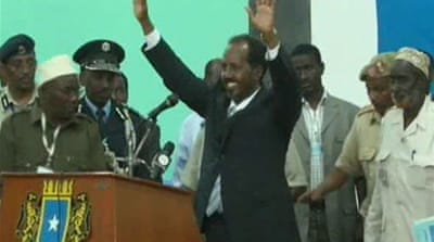 Somali MPs elect Hassan Sheikh as president