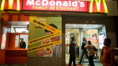 All-veg McDonald's eyes India's holy sites