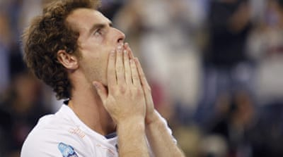 Long-time coming: Murray had lost his previous four Grand Slam finals and was not the fancied favourite for the final against Djokovic at Flushing Meadows [Reuters]