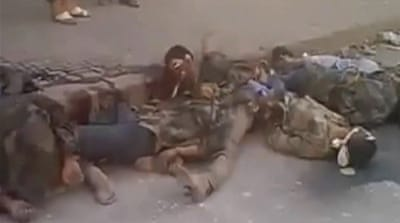 Video shows aftermath of FSA executions