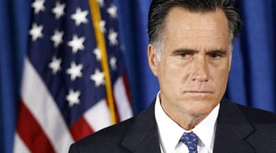 Romney poses, as militants burn a US consulate over Islamophobic film