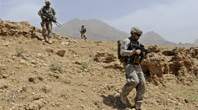 Foreign troops killed in southern Afghanistan