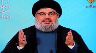 Nasrallah, head of the Lebanese Shia movement, called for massive protests against an anti-Islam video [EPA]