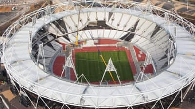 The Olympic Stadium created a great atmosphere during the Games but now lies empty [Reuters]